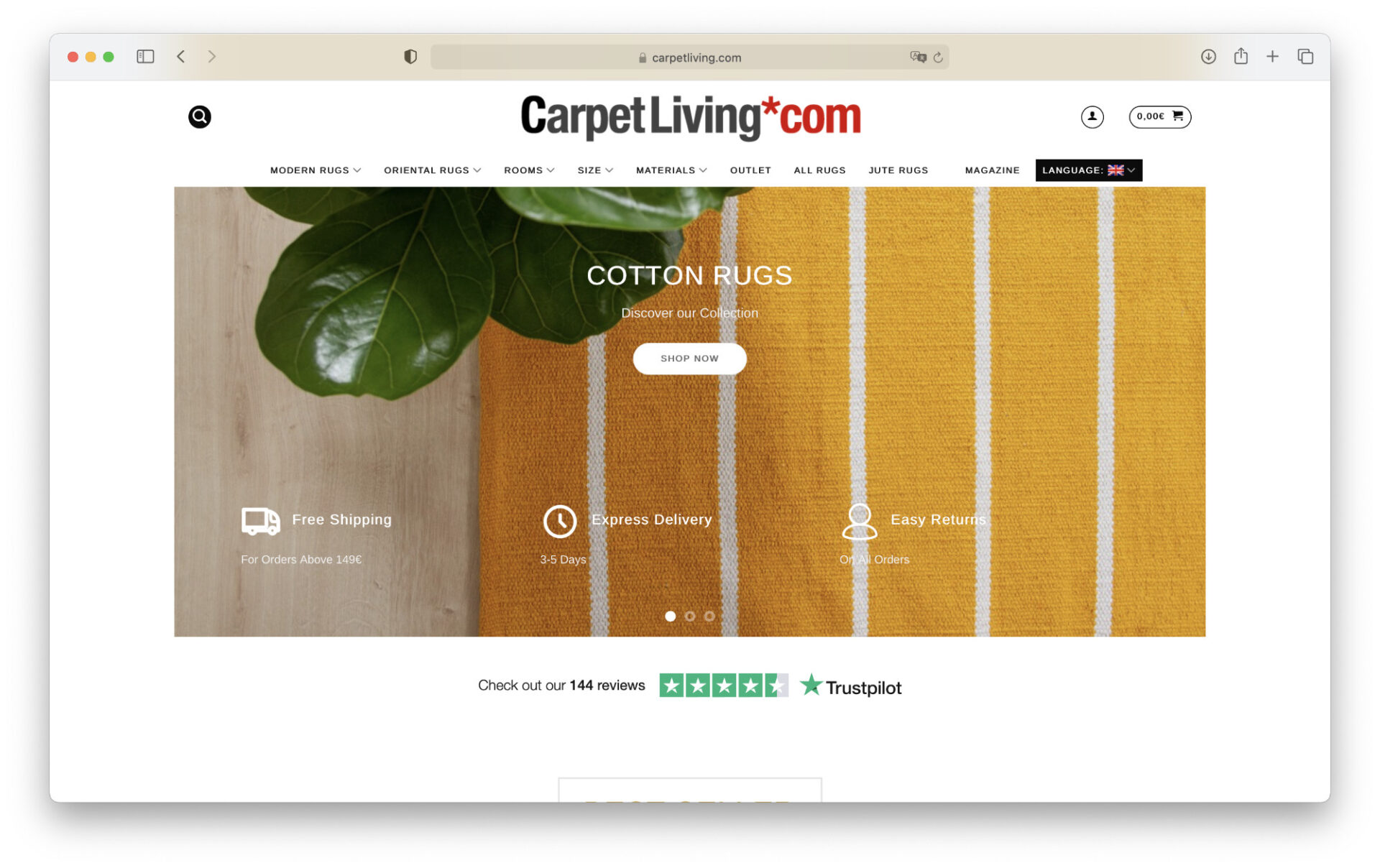 CarpetLiving Screenshot