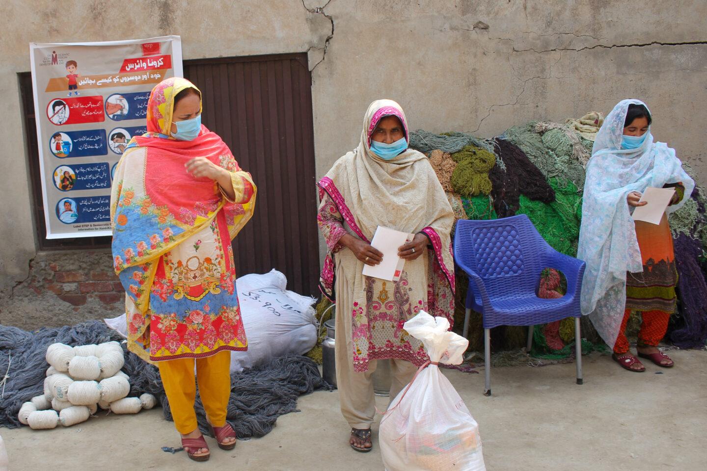 COVID Relief Distribution Pakistan